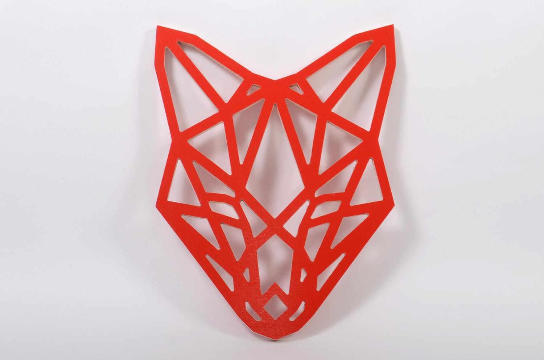 Настенный декор «Лиса красная»