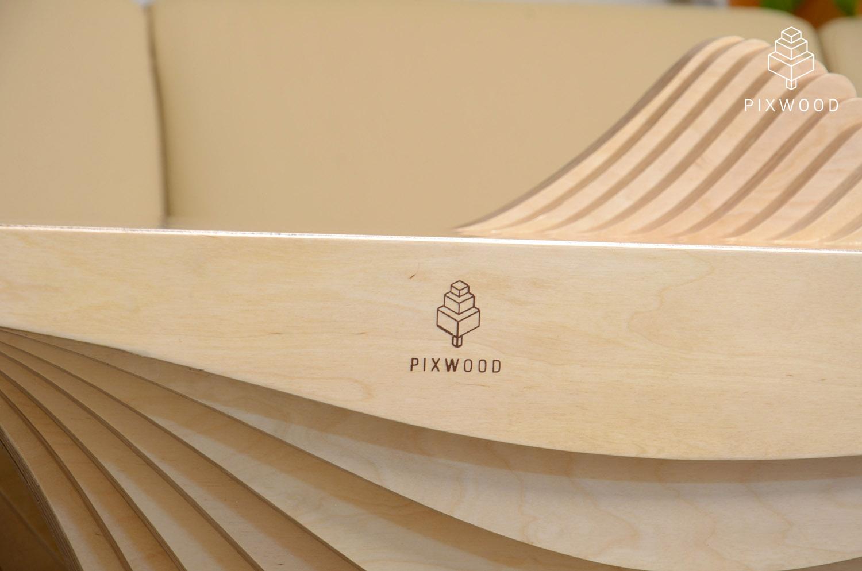 Журнальный стол «Гидро» с параметрическим дизайном